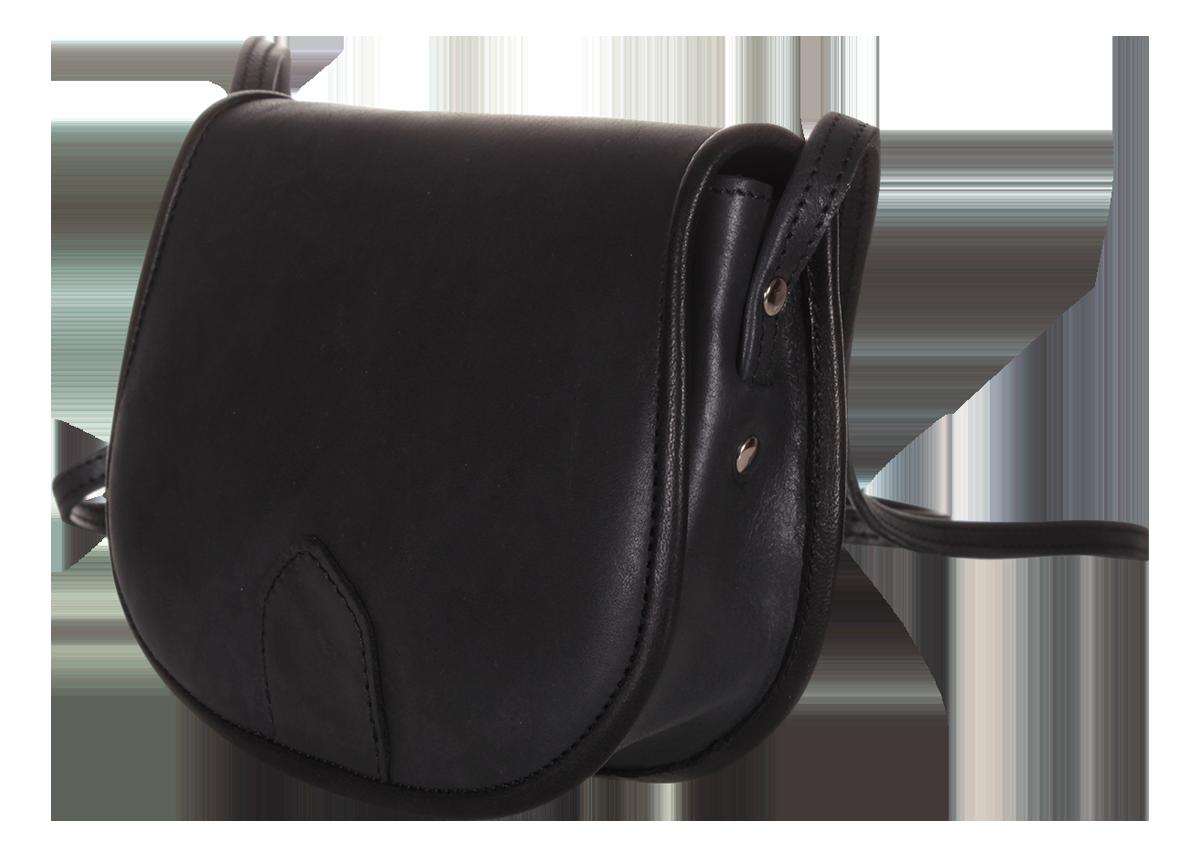 Női kis méretű táska fekete marhabőrből fd82db5604