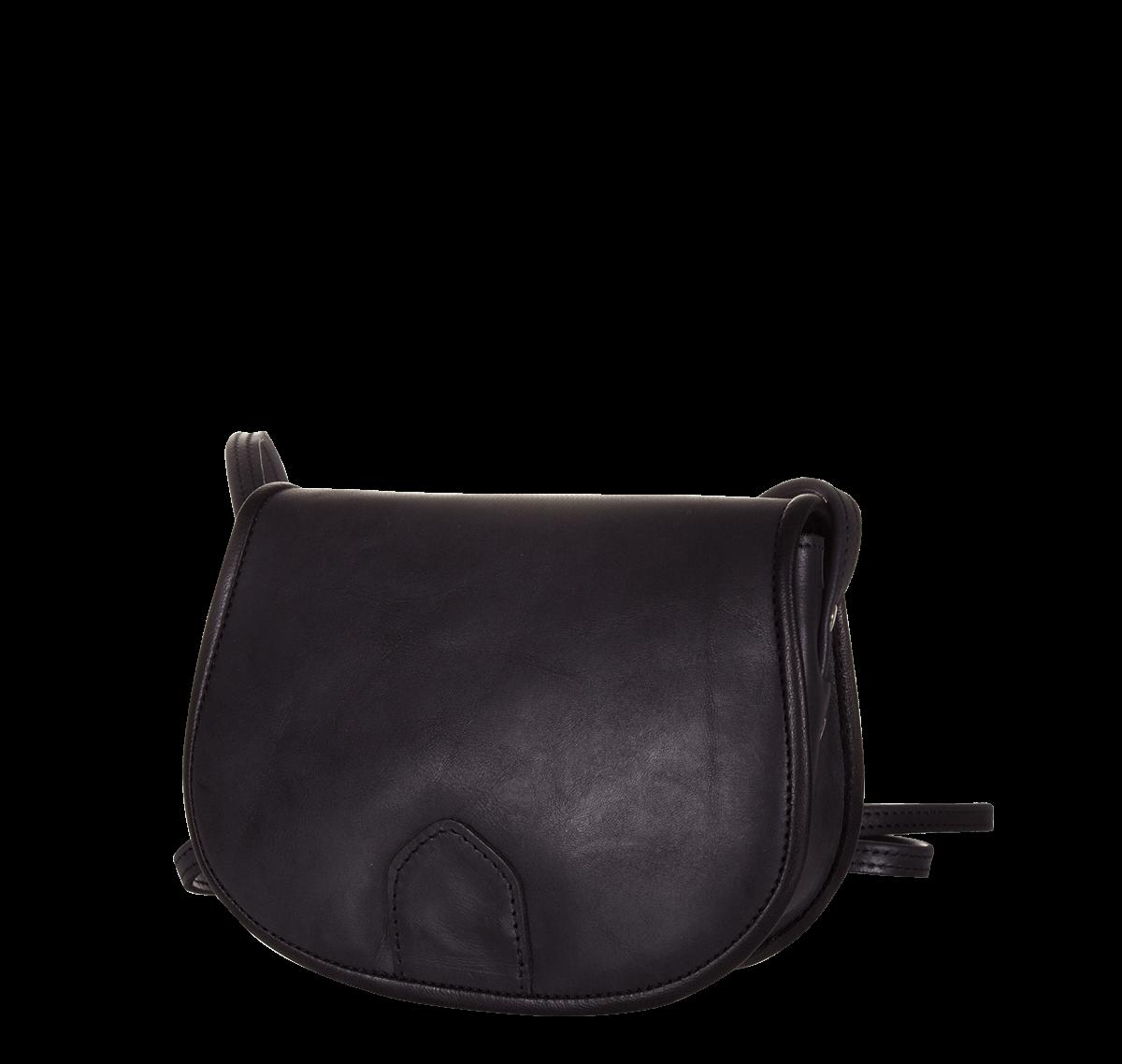 Női kis méretű táska fekete marhabőrből eaf28f0bac